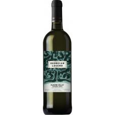 Вино Грузинская Легенда Алазанская Долина белое полусладкое 0.75л 10-12% (4860104020023)